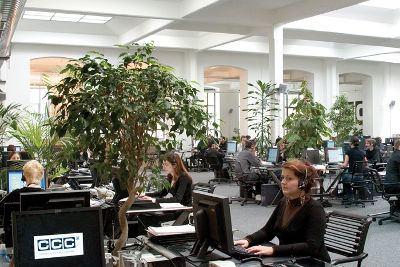 Competence Call Center AG Arbeitsplatz 3